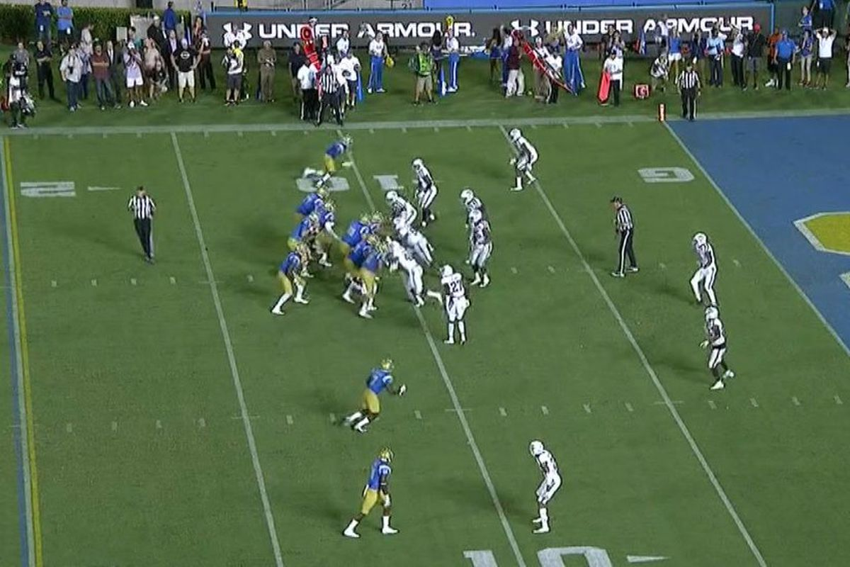 Image result for Georgia Tech's working Tennessee, and this cut to set up a touchdown is just vicious