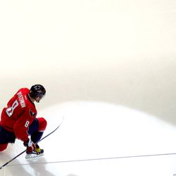 Ovechkin After Scoring 45th Goal of Season