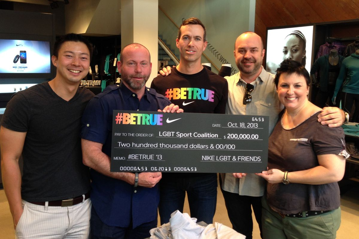 7e5f8d6b4ffc Nike donates  200k to LGBT Sports Coalition - Outsports