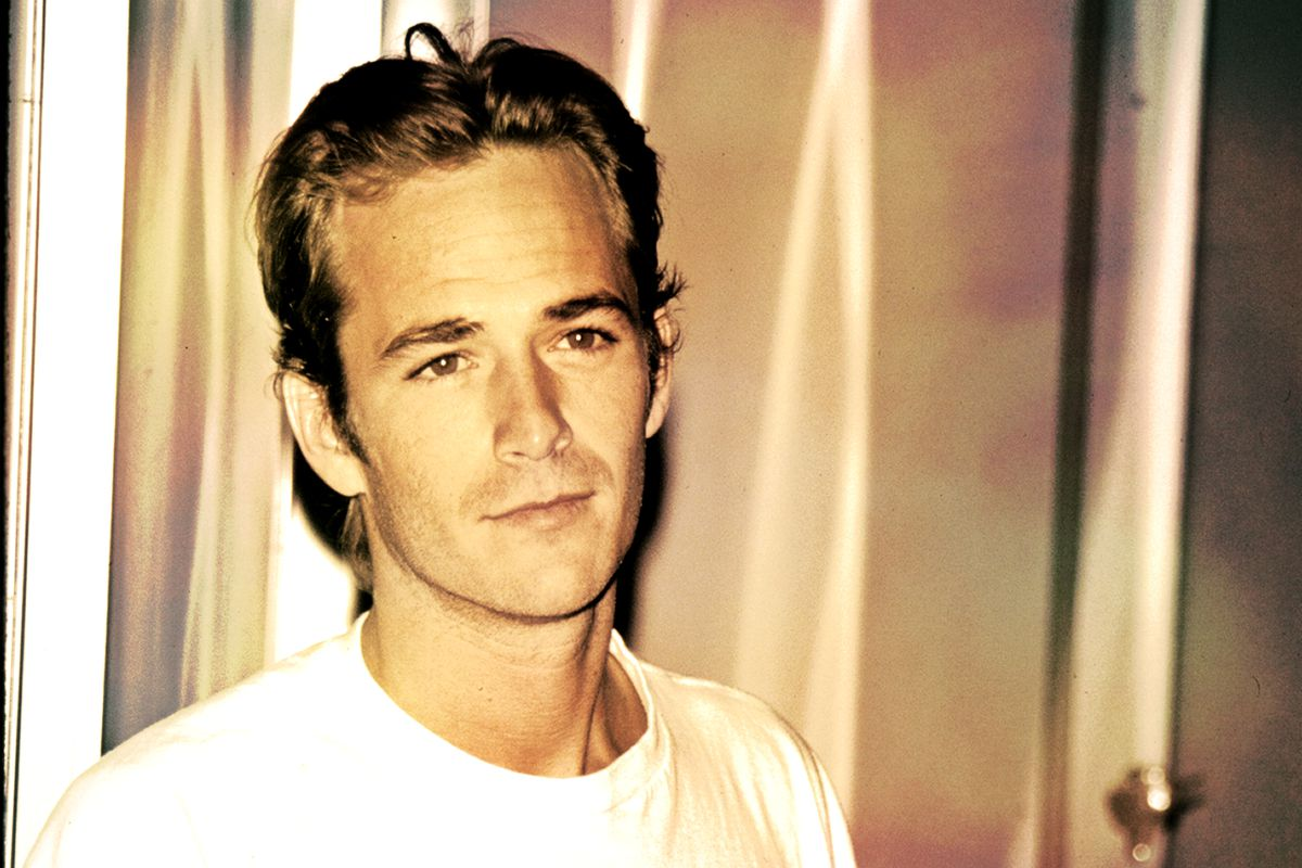 A young Luke Perry