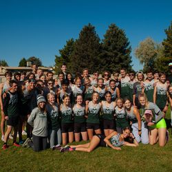 Olympus' boys cross country team won the Region 6 championship this year, with the Olympus girls finishing fourth.