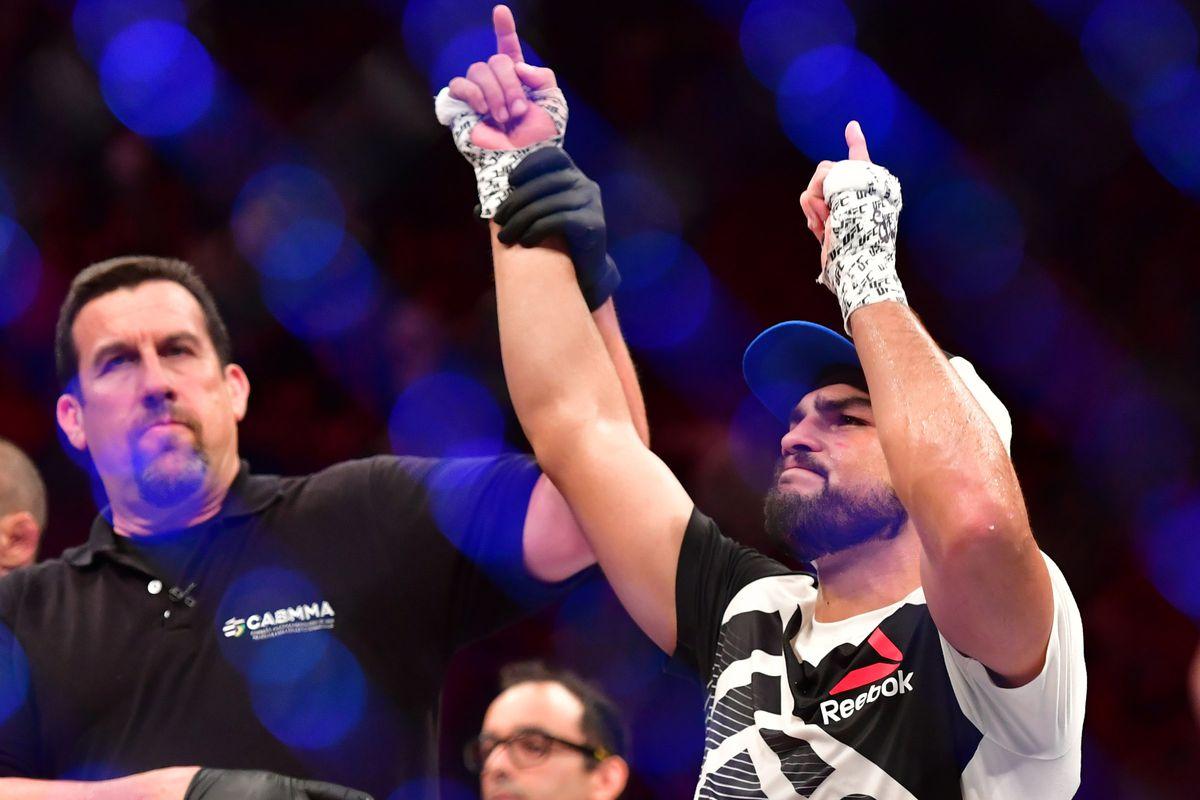 MMA: UFC Fight Night-Belfort vs Gastelum