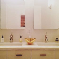 All of my bathrooms are stocked with <b>Jo Malone</b> hand soap and lotion. My guests always walk out of the bathrooms and comment how nice it smells!
