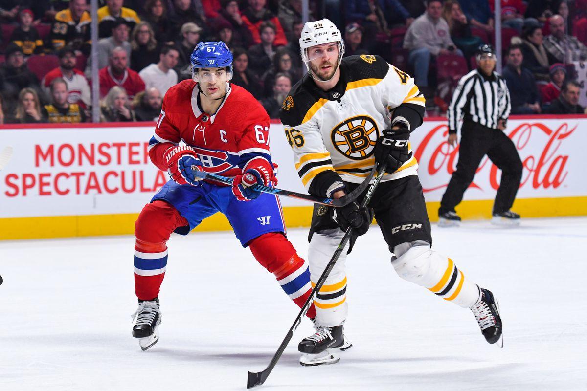 NHL: JAN 13 Bruins at Canadiens