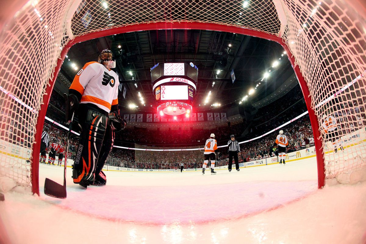 This photo is actually sort of cool. (Photo by Bruce Bennett/Getty Images)