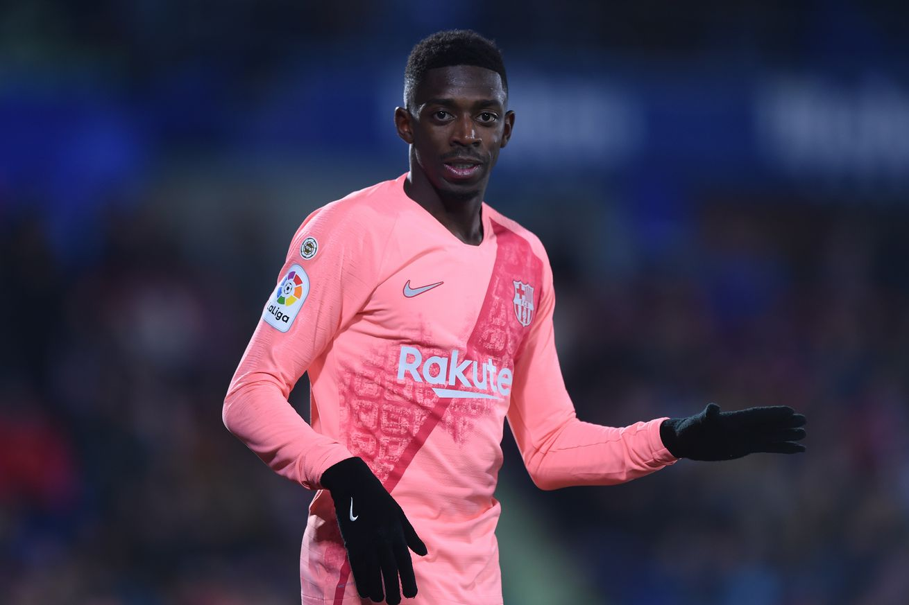 Tuchel is crazy about Ousmane Dembele