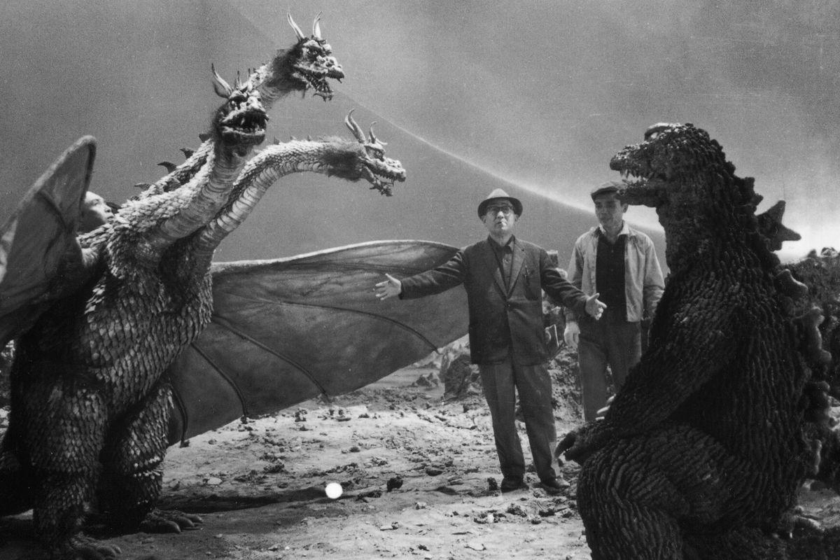 Tsuburaya supervises The Great Monster War (1965).