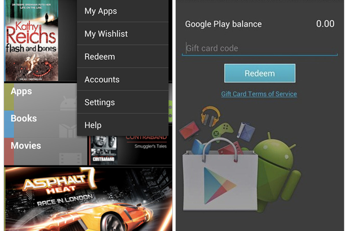 google play store to likely add gift cards wishlists the verge. Black Bedroom Furniture Sets. Home Design Ideas