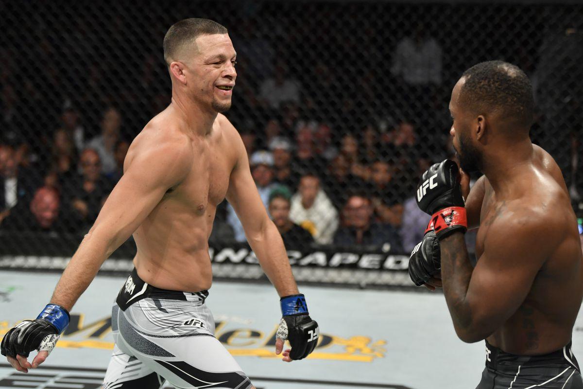 UFC 263: Leon Edwards vs Nate Diaz
