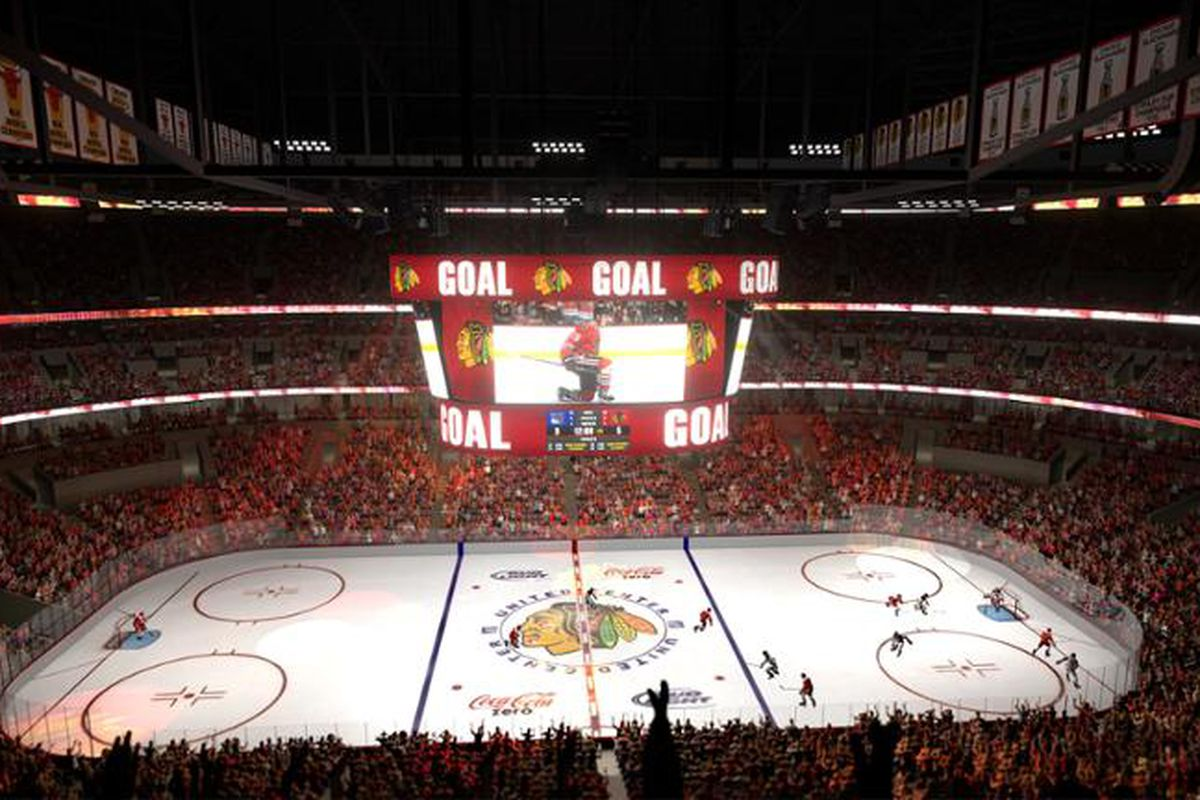 United Center Will Have New Scoreboard Sound System In