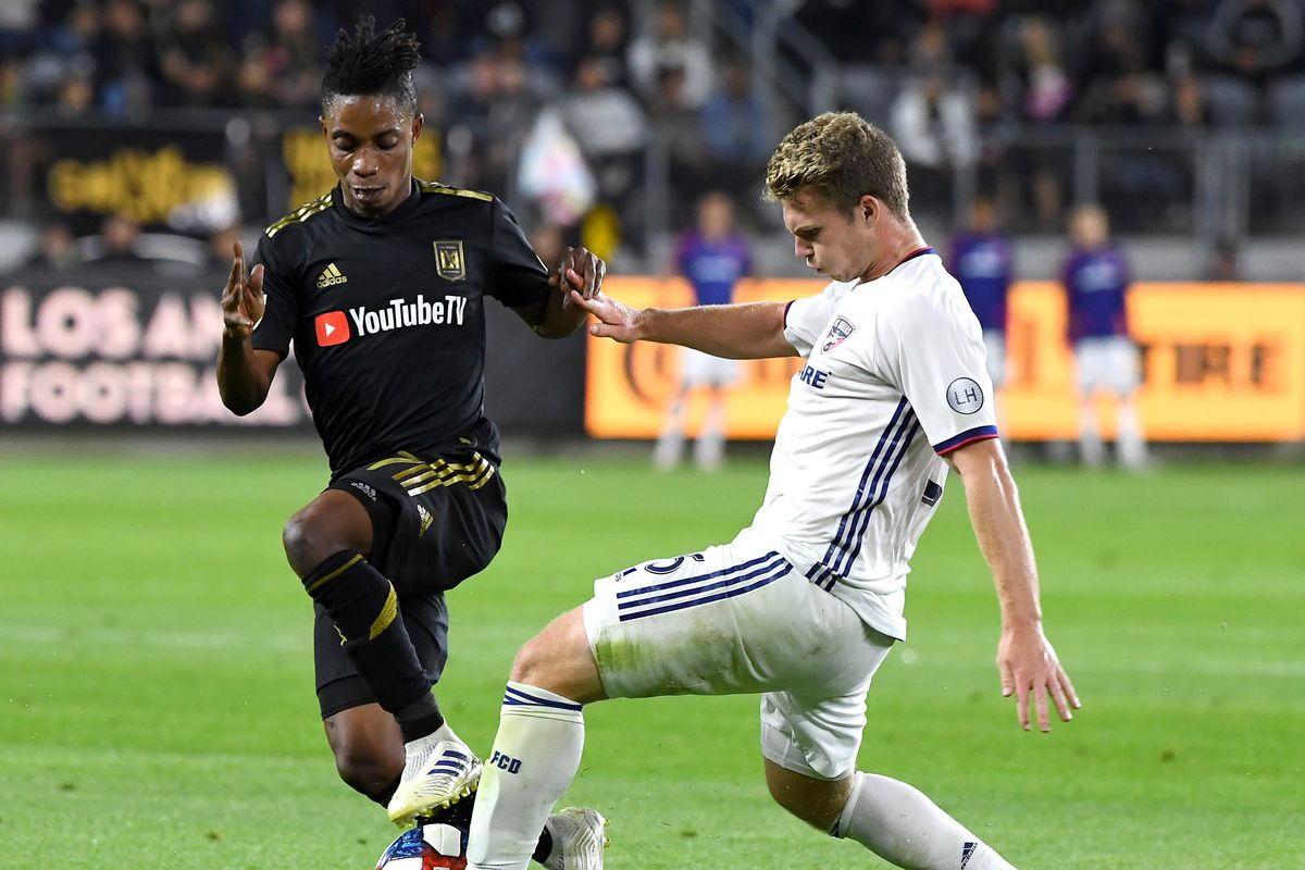 new arrival 15f65 8c236 FC Dallas vs LAFC: Highlights, stats and quote sheet - Big D ...