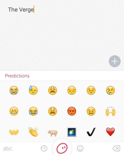 Swiftkey's new keyboard app can predict your next emoji - The Verge