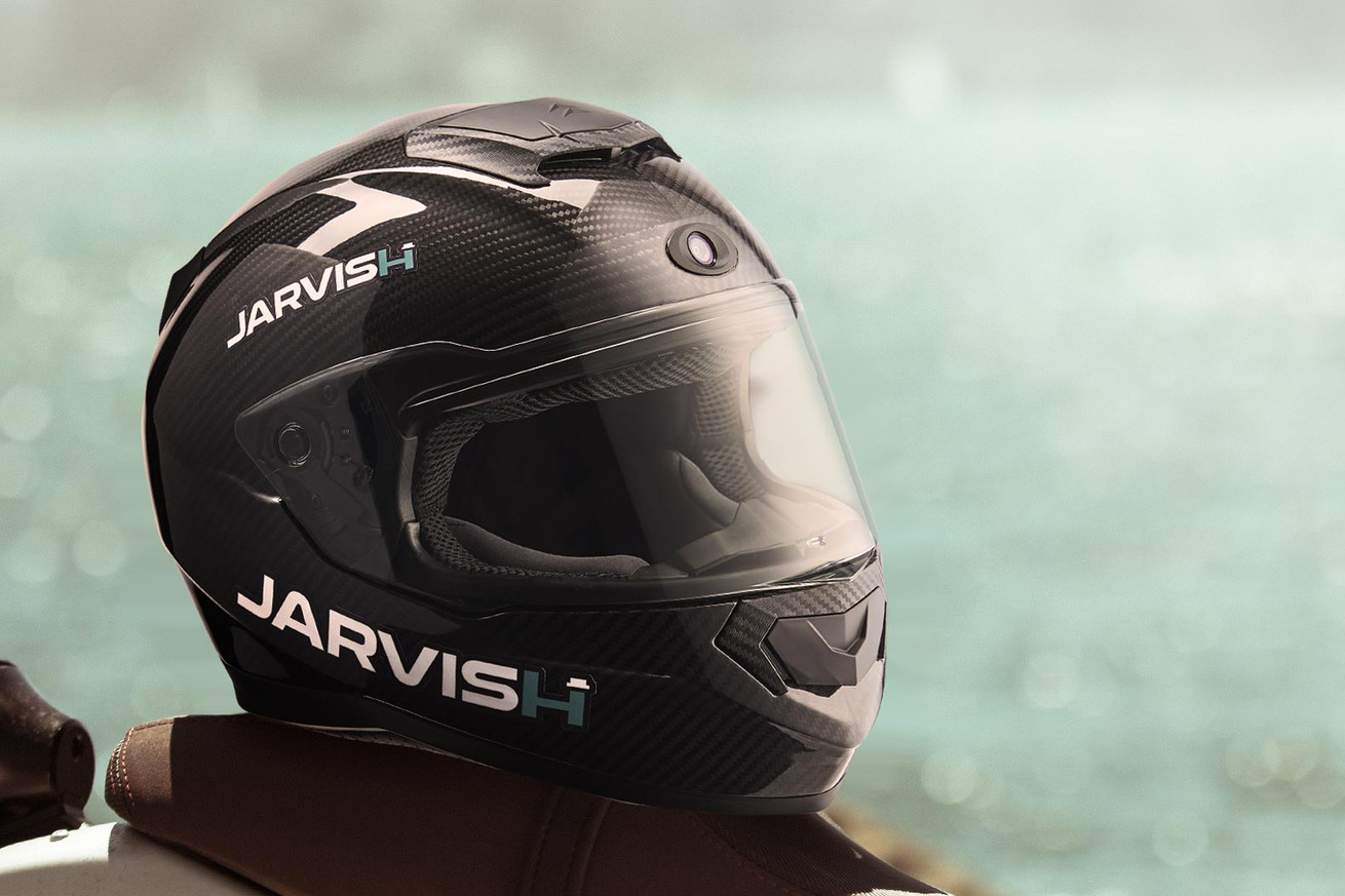 jarvish s smart motorcycle helmets will offer alexa and siri support and an ar display