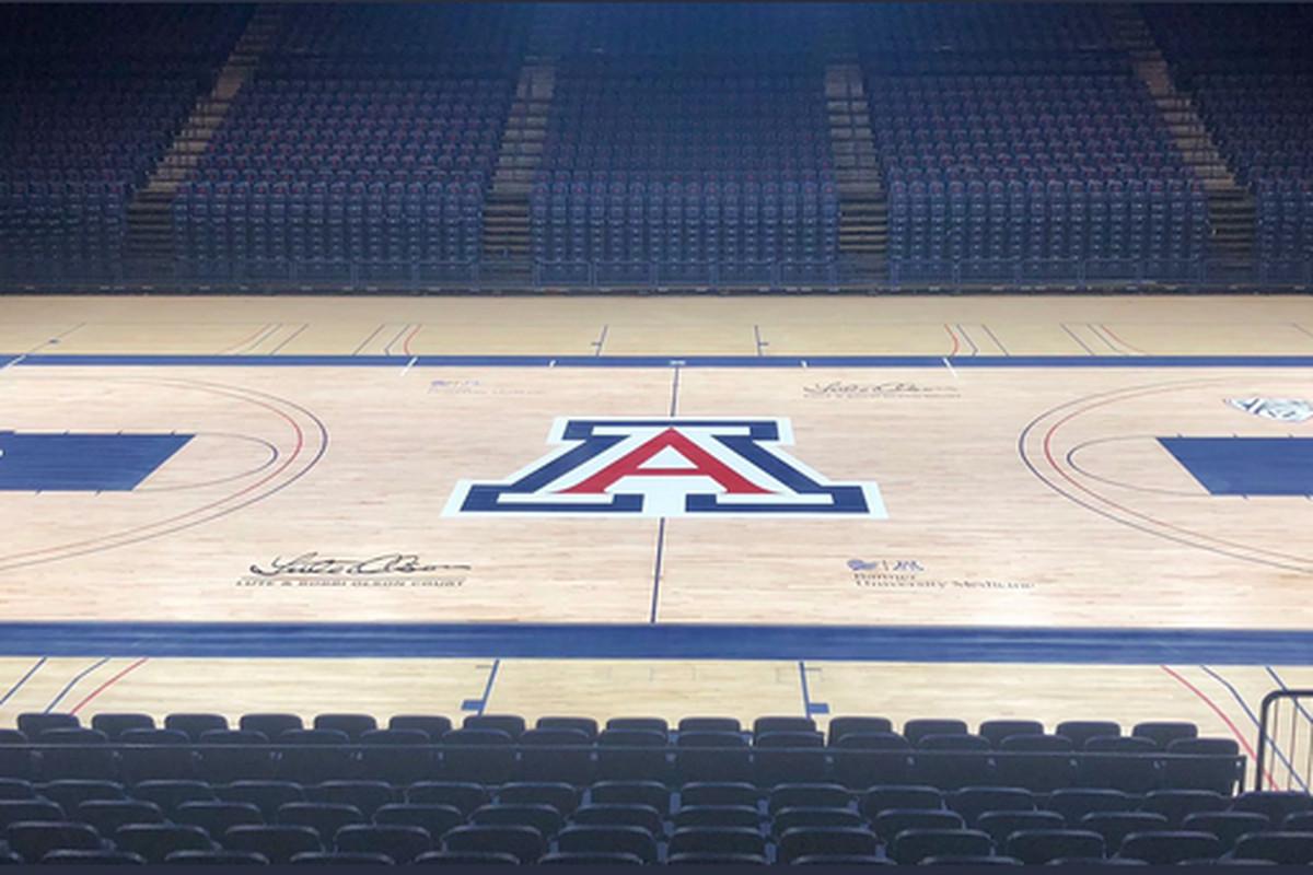 mckale-center-court-renovation-lute-bobbi-olson-three-point-line-college-basketball-miller-fbi
