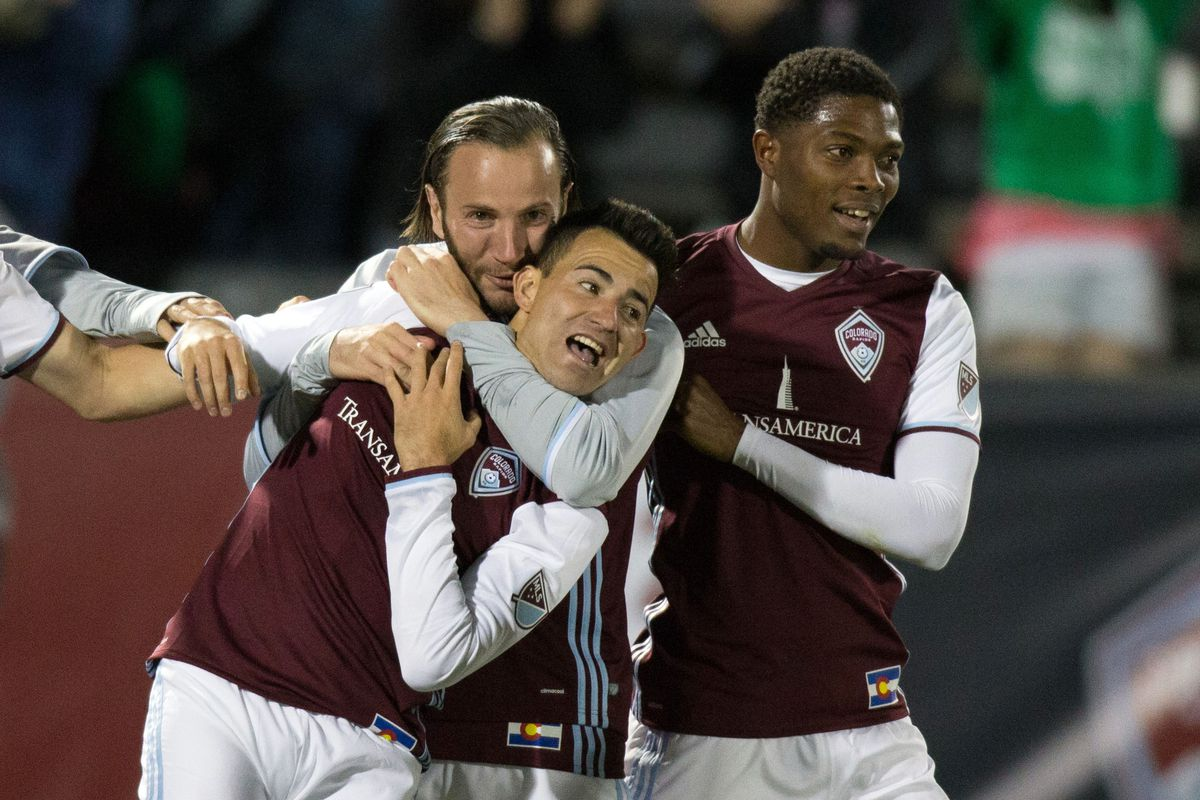 Gashi hugging Pappa after his game-winner. After Gashi had been subbed off. Oops.