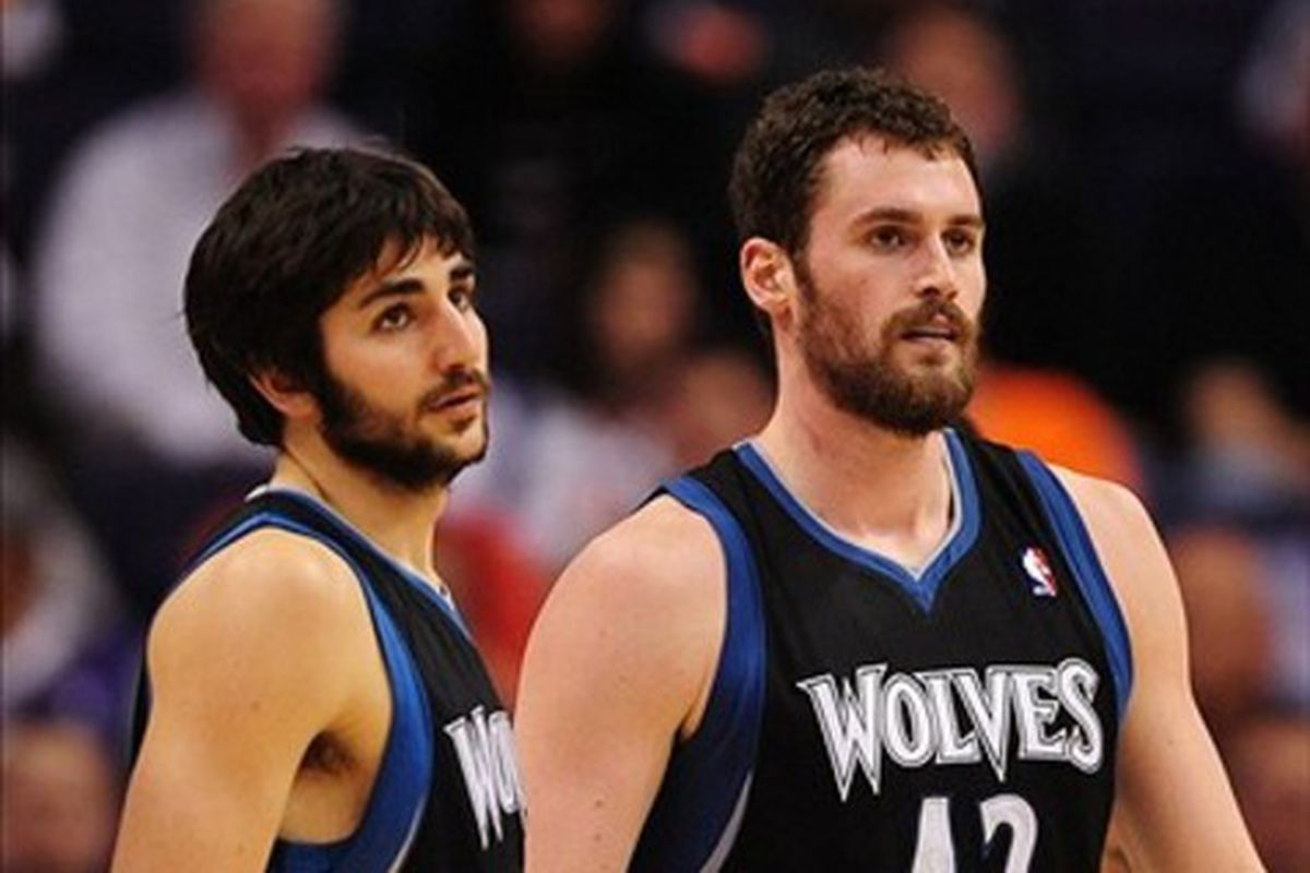 Flip Saunders has spoken to the two most important Wolves