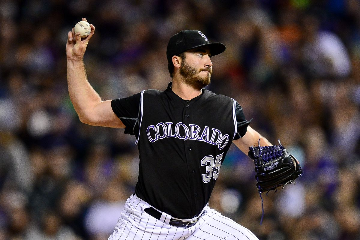 b3467cc46f841 Chad Bettis returned to baseball after cancer and the Rockies played the  perfect song for the occasion