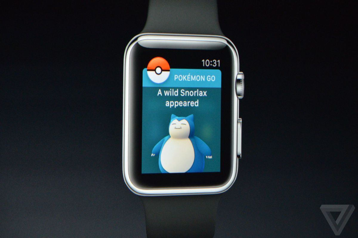 Pokémon Go for the Apple Watch is not canceled