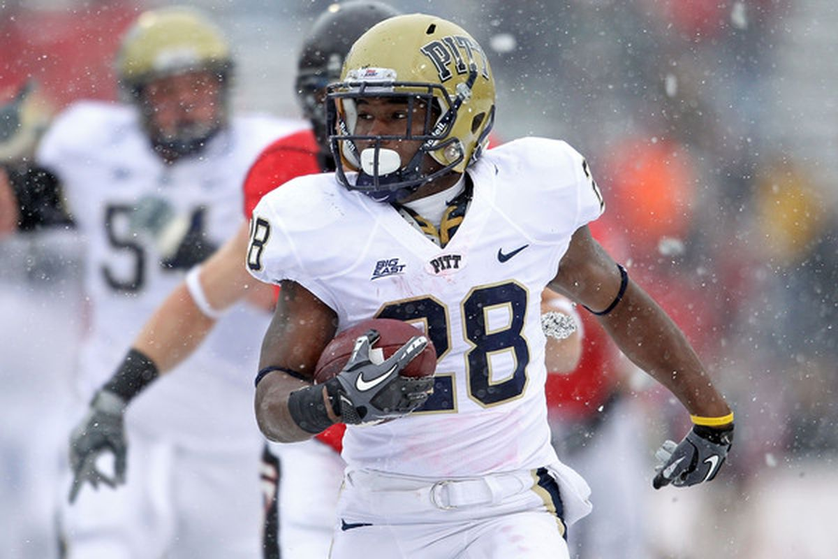 Former Pitt RB Dion Lewis was arrested over the weekend (Photo by Andy Lyons/Getty Images)