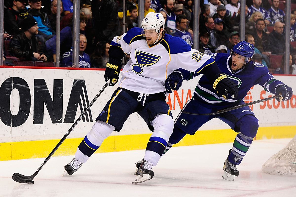 Even Kesler is shocked that Berglund is playing big. Keep at it, TV!