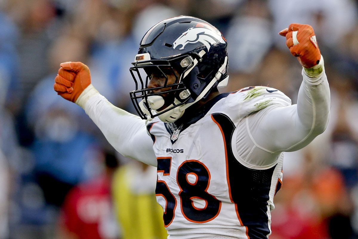 Denver Broncos outside linebacker Von Miller said he has COVID-19.