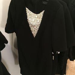 Evening dress, $590