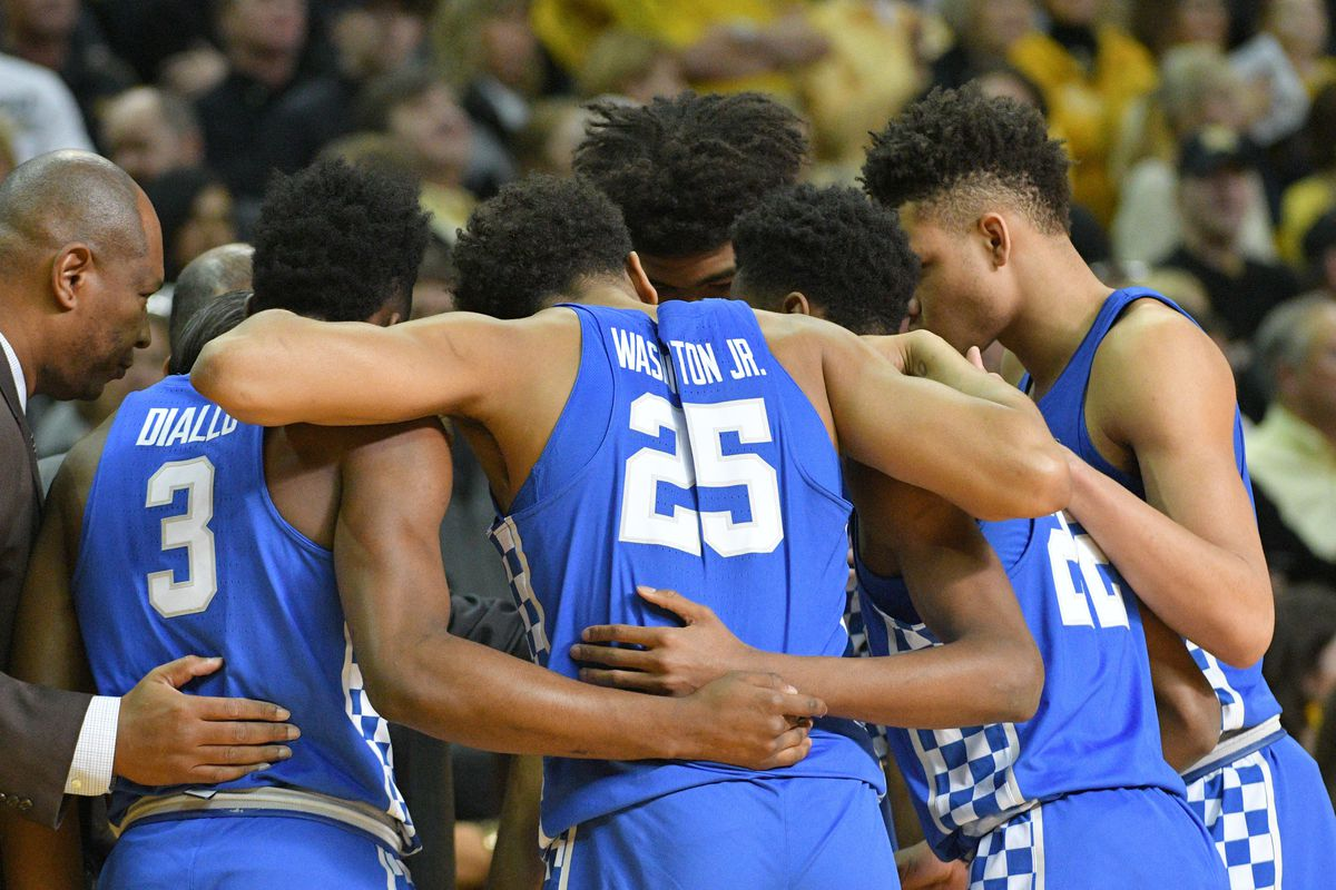 Kentucky Basketball Wildcats Have Two Usa Today: Kentucky Wildcats Basketball Vs Auburn Tigers: Game Time