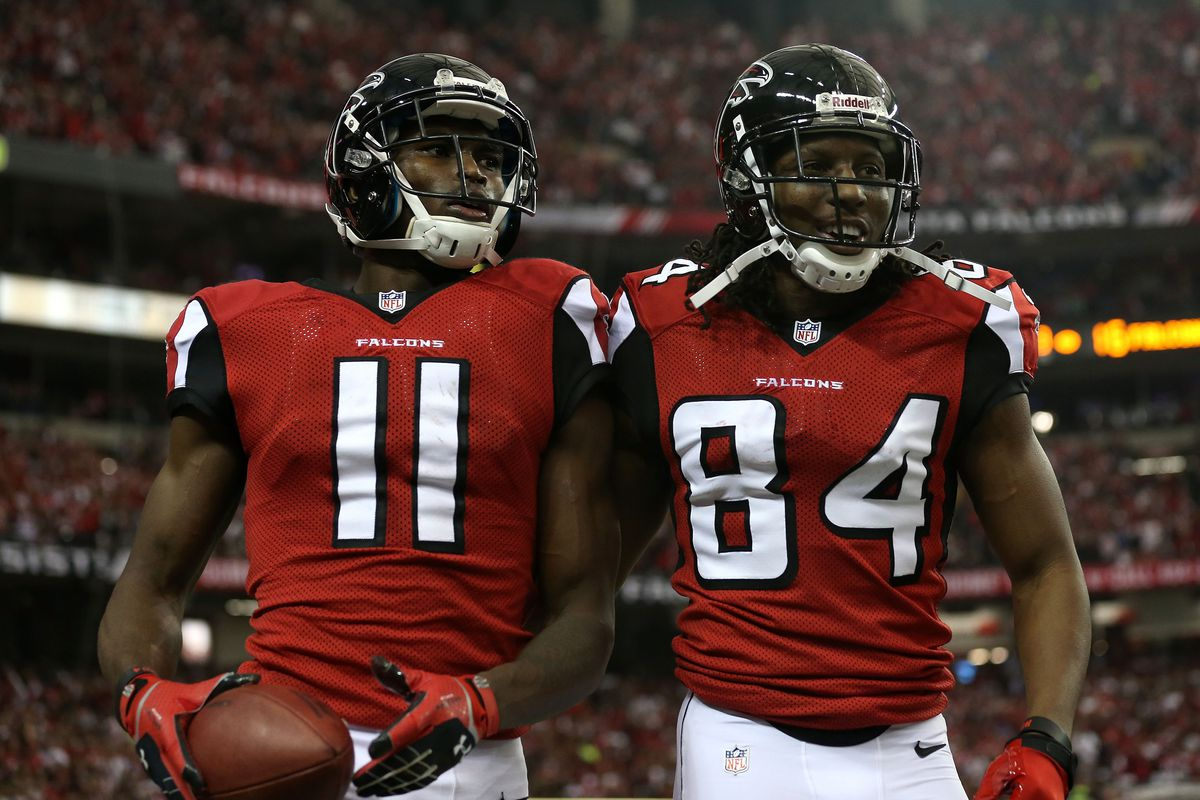 info for a960d 252bc Julio Jones, Roddy White questionable for Falcons vs. Jets ...