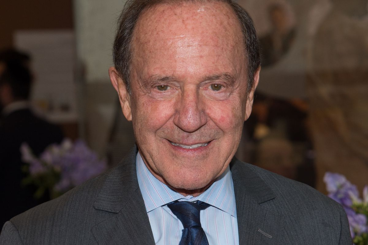 New York Daily News owner Mort Zuckerman at Bloomberg event 2015