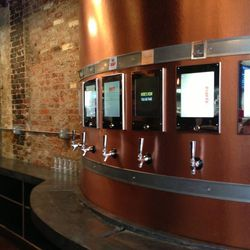 The self-serve tap system.