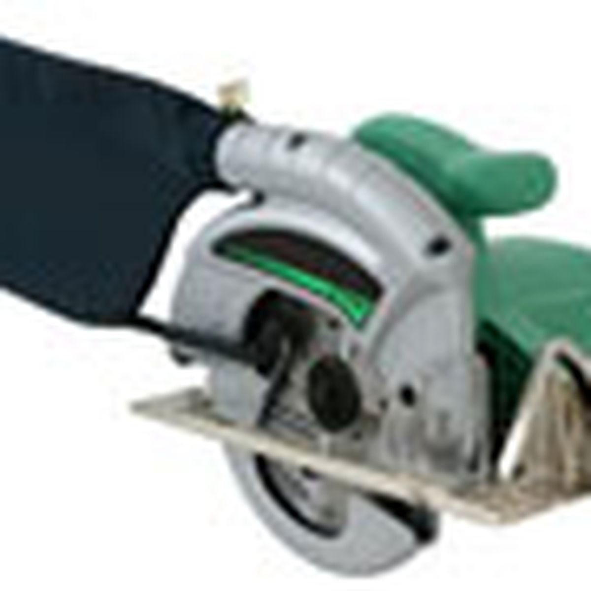 circular saw with dust-collection