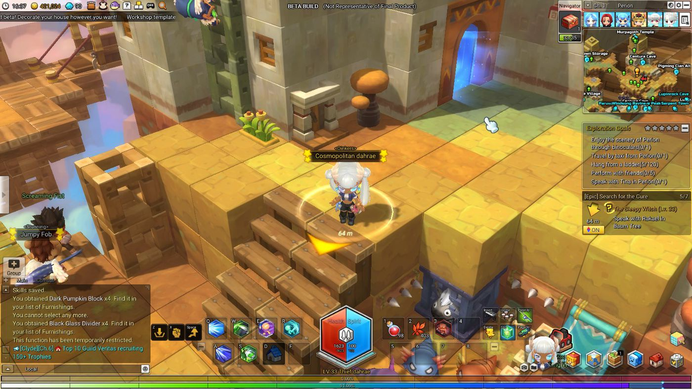 MapleStory 2 is nothing like the original game, and that's
