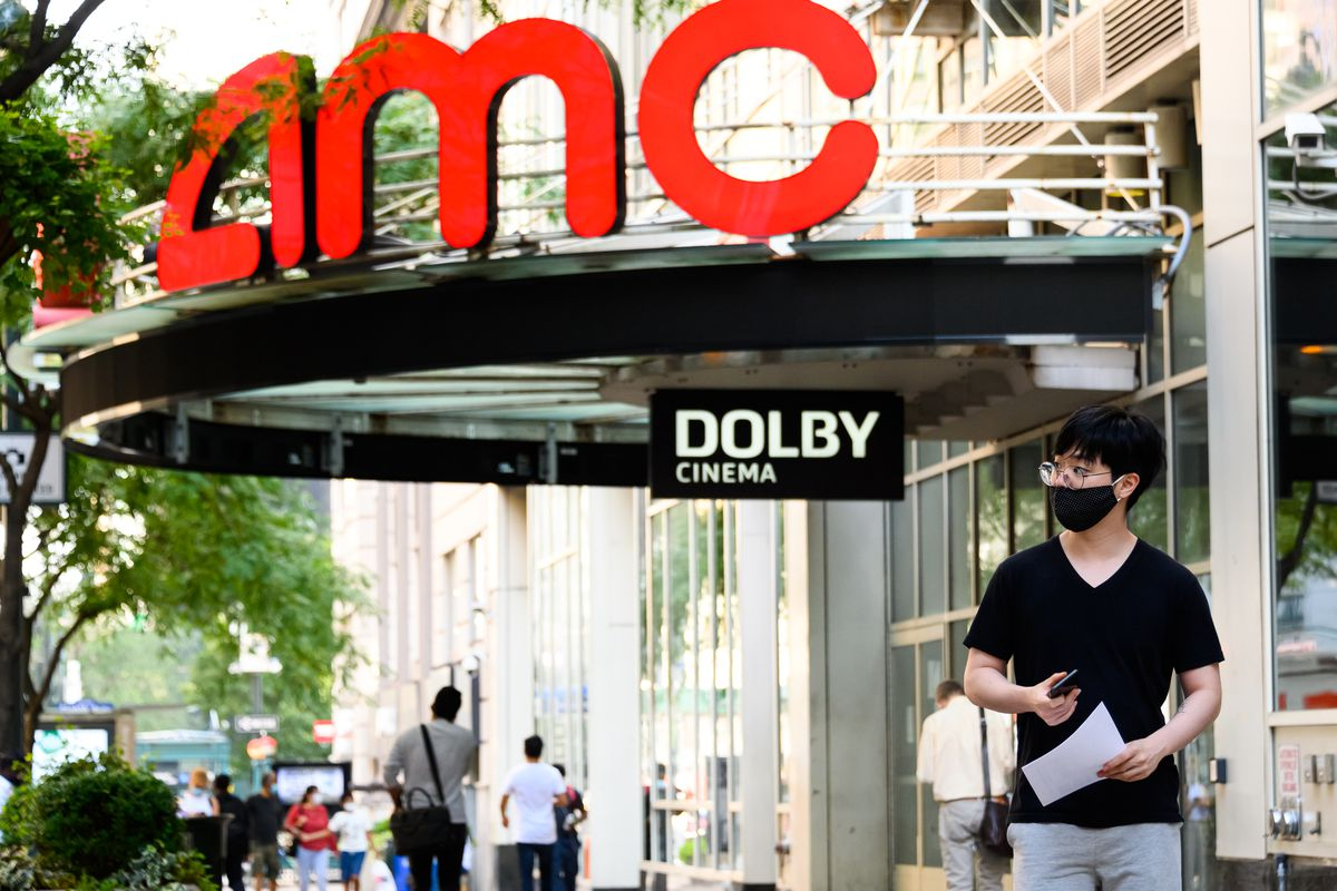 AMC plans to reopen more than 100 theaters in the US starting August 20th