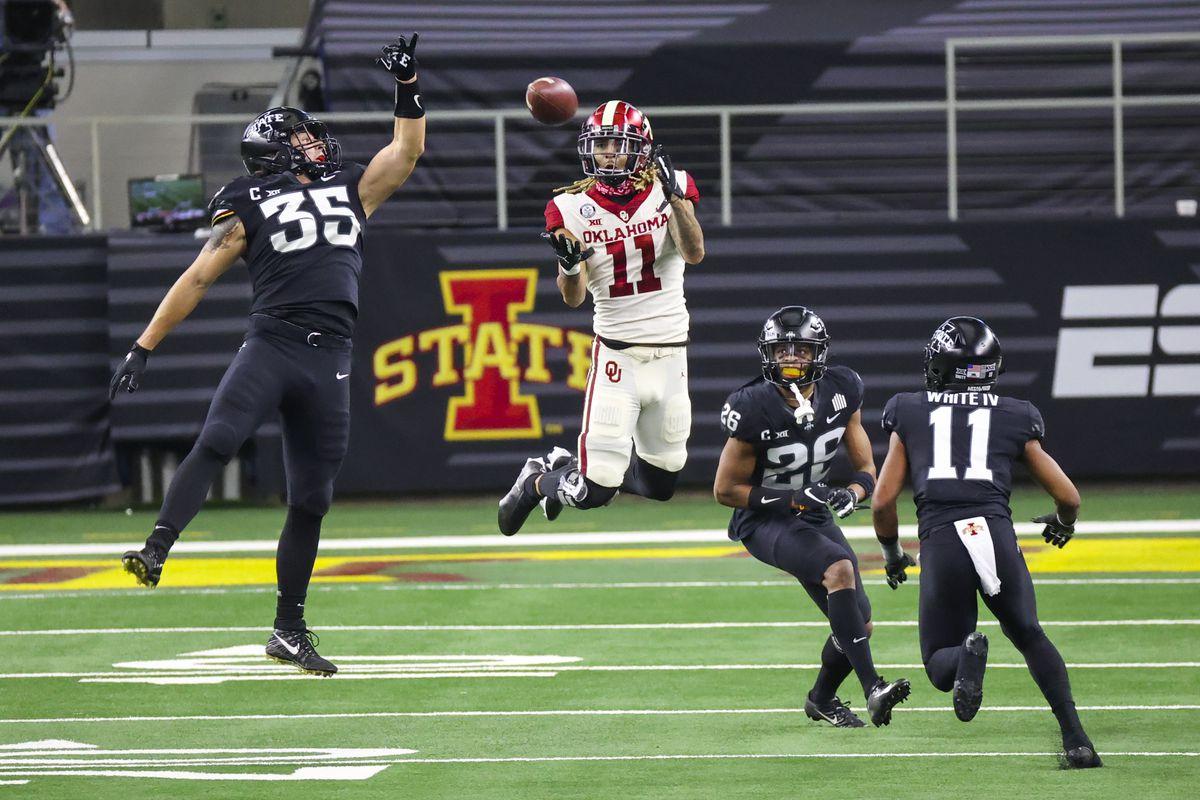 NCAA Football: Big 12 Championship-Oklahoma at Iowa State