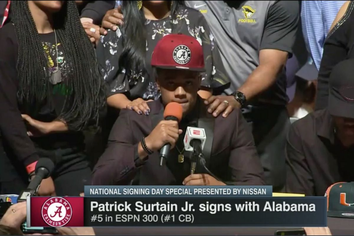 Wrapping Up Alabama Football National Signing Day 2018 Live Open Thread 296aa59c5