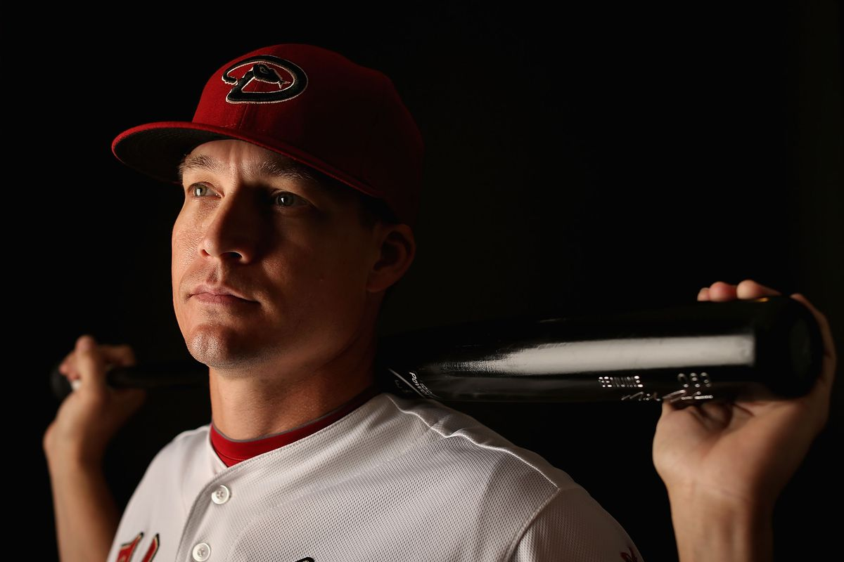 D-backs minor league player of the month, Mike Jacobs