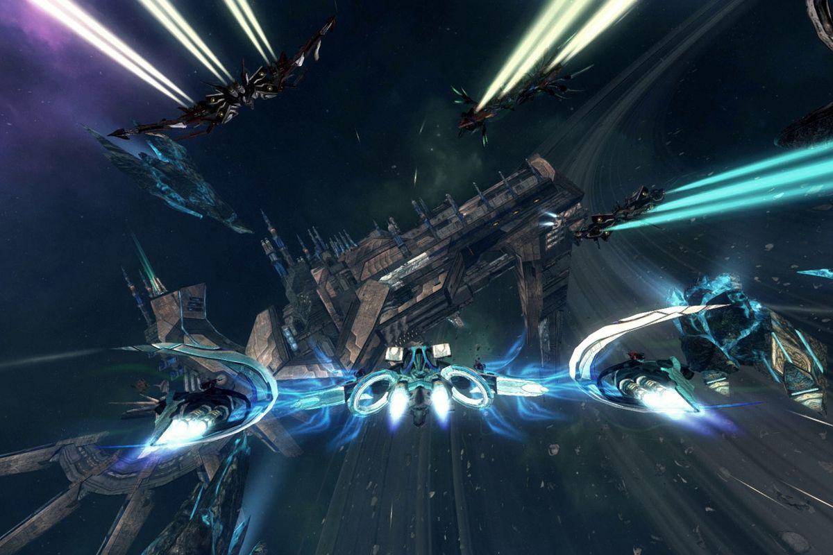 Bandai Namco picks up space shooter GoD Factory: Wingmen - Polygon