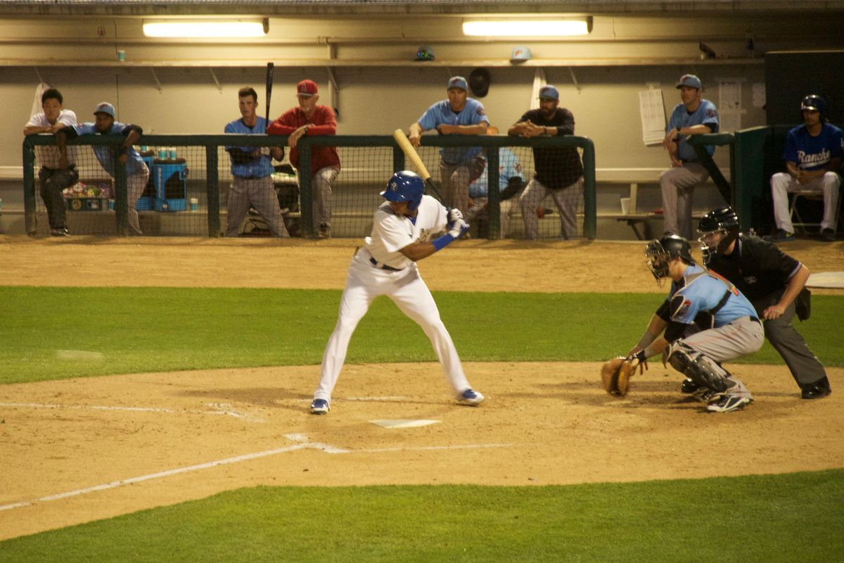 Edwin Rios continued his hot hitting in the Quakes victory on Sunday