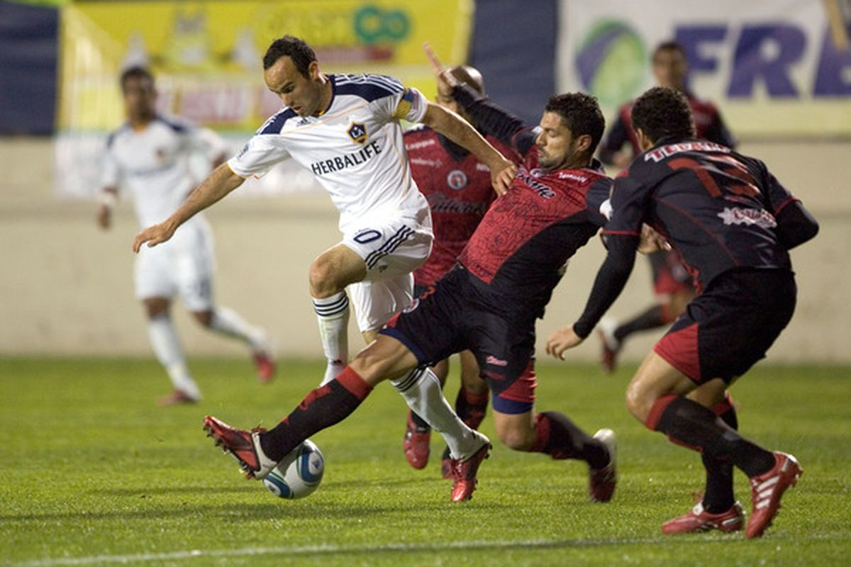 Can Xolos challenge the Galaxy for a Southern California fanbase? (Photo by Kent Horner/Getty Images)