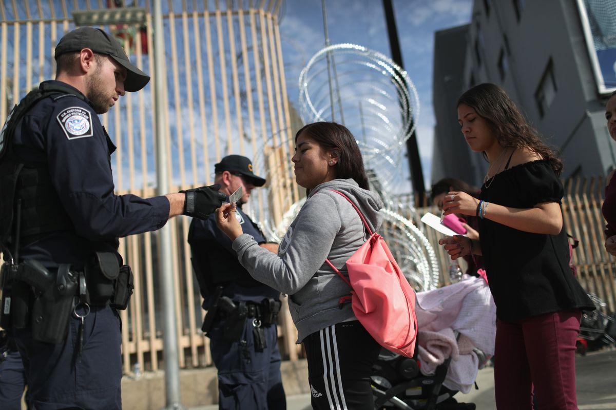 U.S. Fortifies Border Ahead Of Migrant Caravan