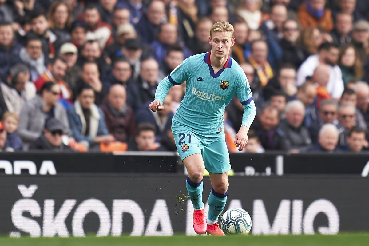 Ruud Gullit Suggests Frenkie De Jong Could Be Doing Better At Barcelona Barca Blaugranes