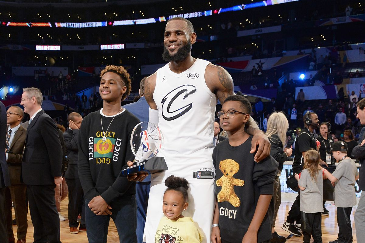 417ace3bbf6 NBA Free Agency Rumors  Gary Payton says LeBron James  son has committed to  Los Angeles  Sierra Canyon High School