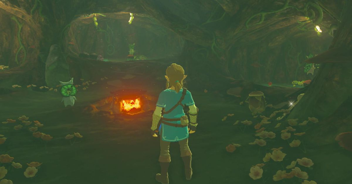 Zelda Breath Of The Wild Guide Korok Forest Location And Map Polygon