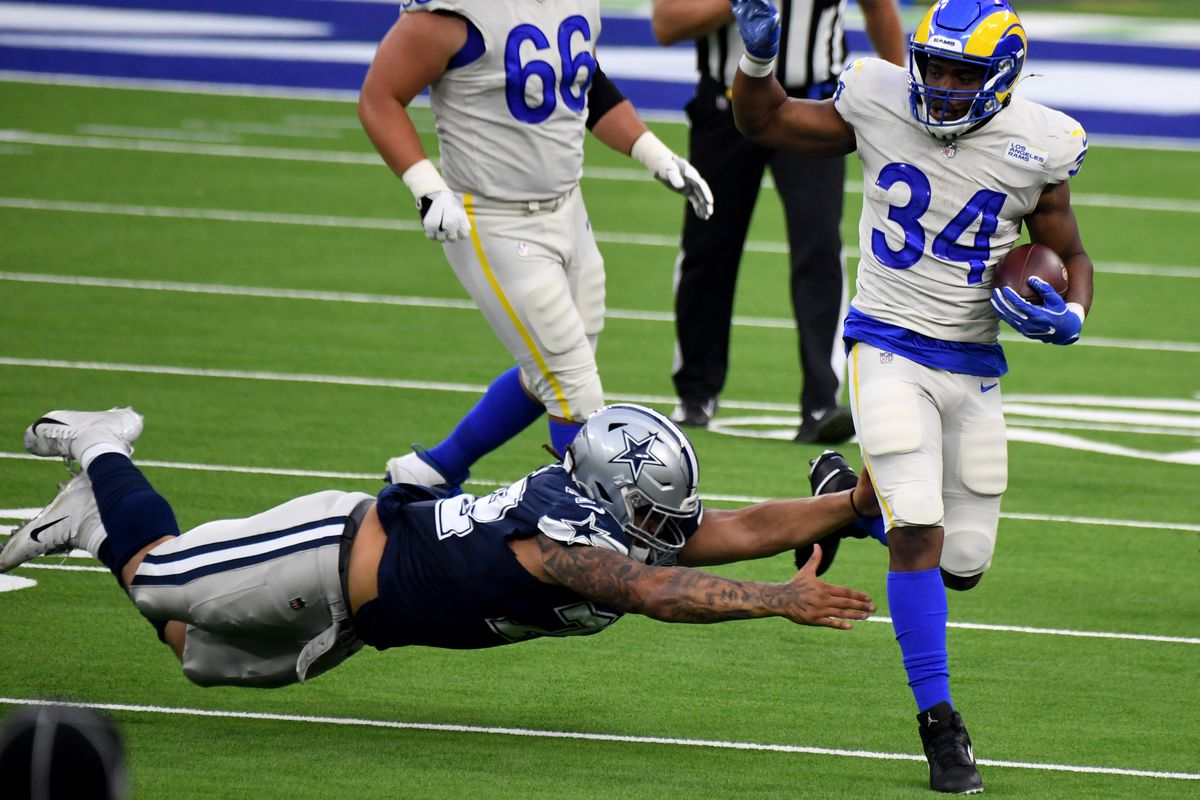 Los Angeles Rams defeated the Dallas Cowboys 20-17 during a NFL football game on opening night at SoFi Stadium.