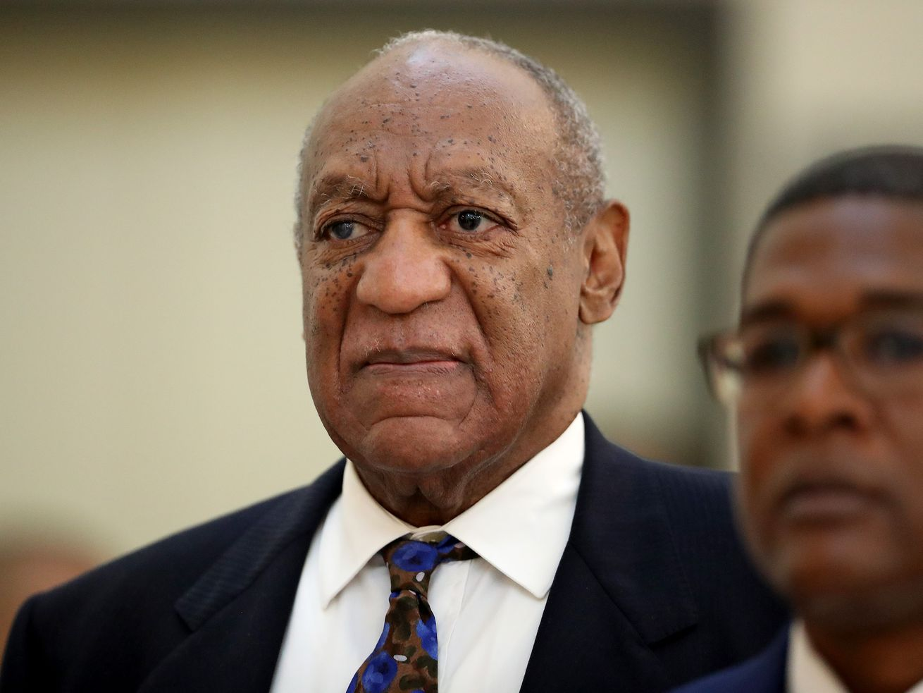 Bill Cosby during his sentencing hearing on September 24, 2018, in Pennsylvania. Cosby was sentenced to three to 10 years in state prison on Tuesday.
