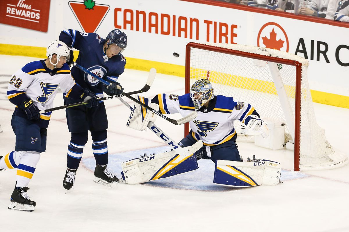 half off bc96f faa78 Jets at Blues game three preview: Get them on the ropes - St ...