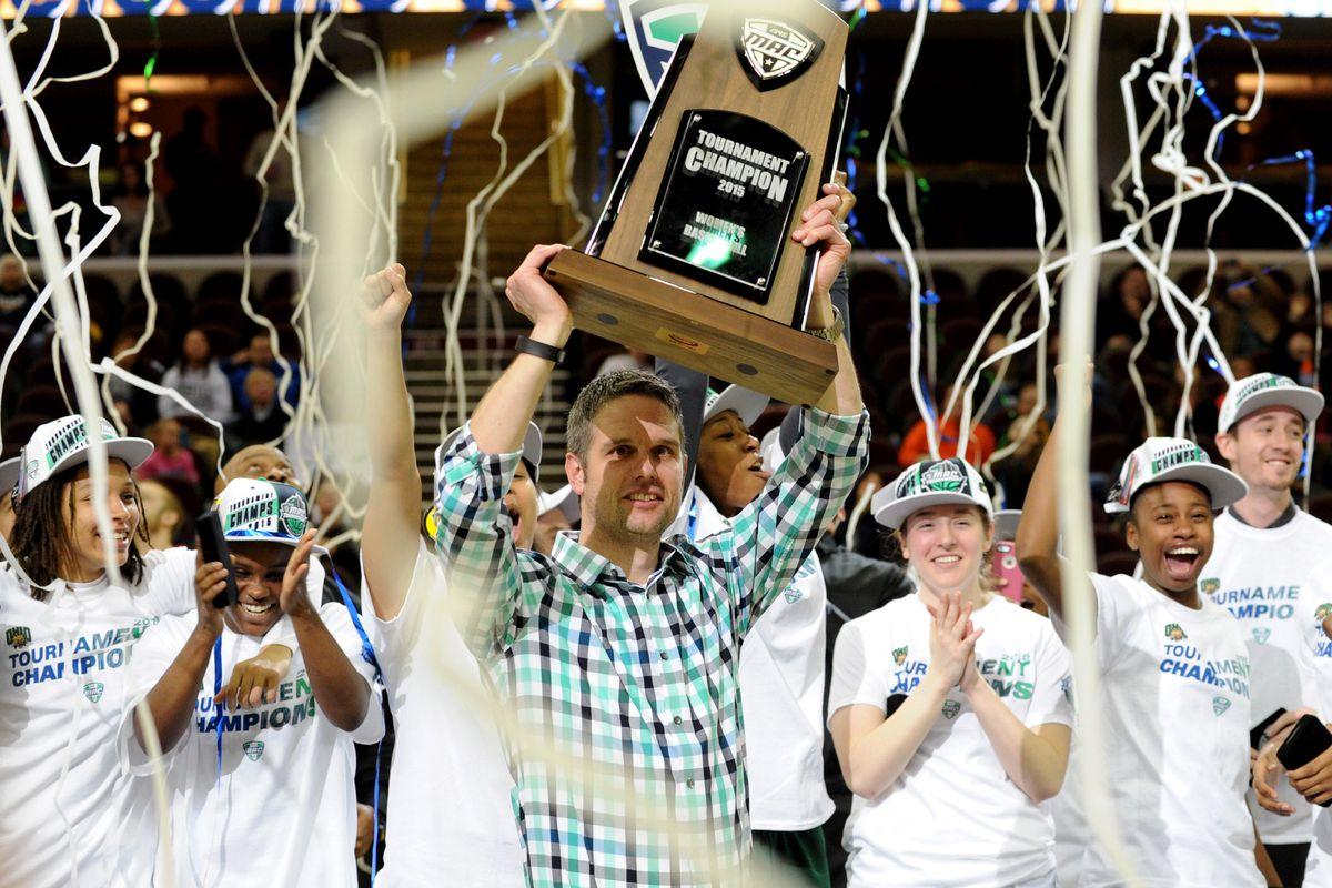 NCAA Womens Basketball: MAC Conference Tournament-Ohio vs Eastern Michigan