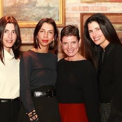 From left to right: Danielle Corona of Hunting Season, the jewelry designer Paula Mendoza, and Chalk co-owners Sharon Watrous and Carrie Kane.