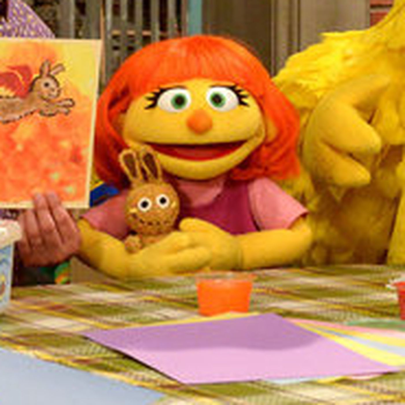 Sesame Street's newest Muppet is teaching kids how to