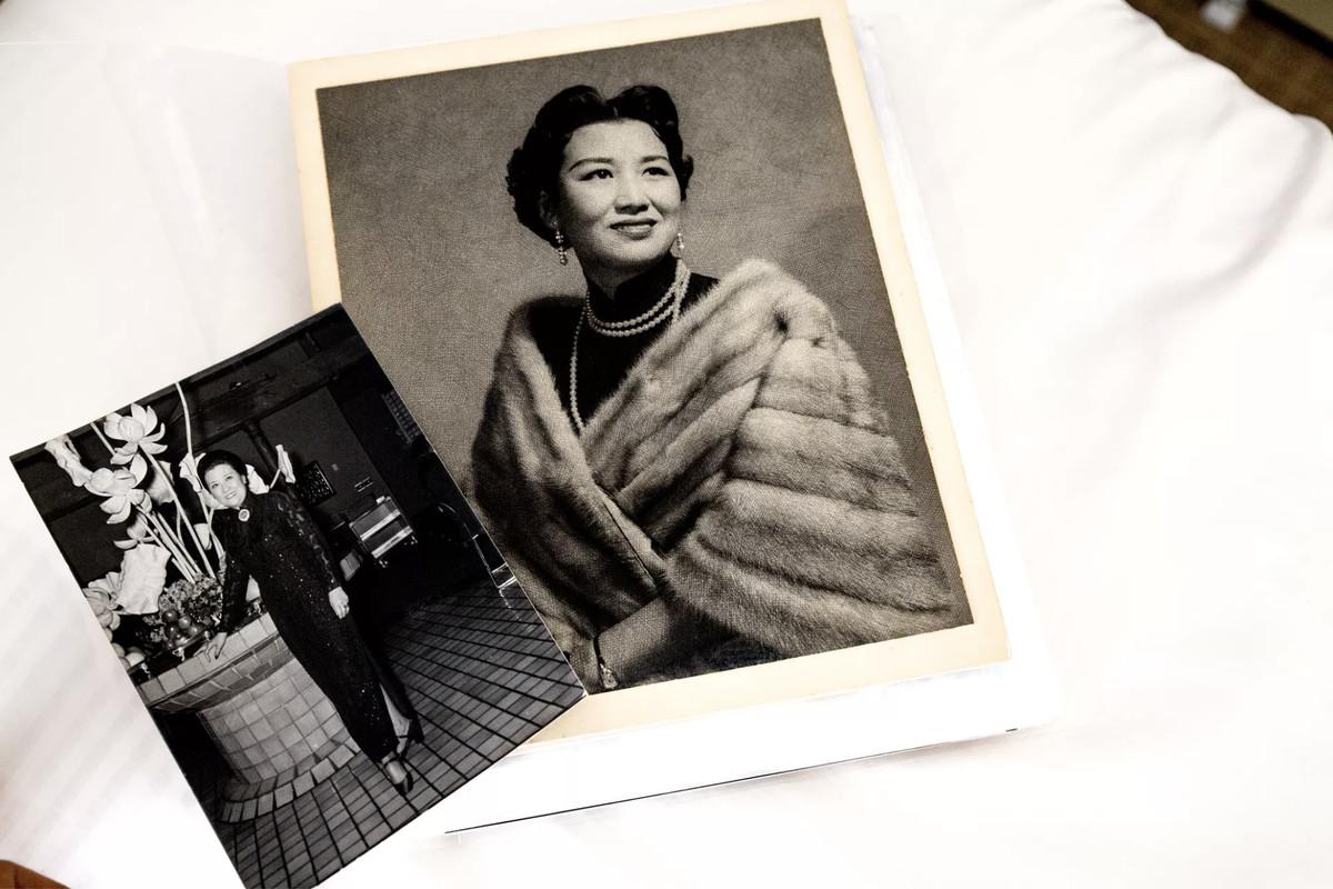 Old snapshots of Cecilia Chiang